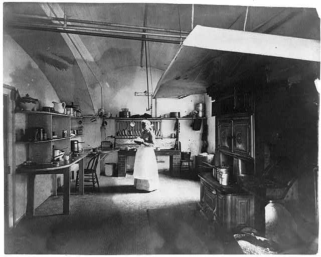 White House Kitchen, 1890